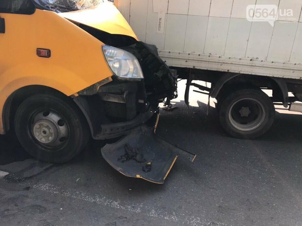 В Кривом Роге маршрутное такси попало в ДТП, есть пострадавшие, - ФОТО, фото-3