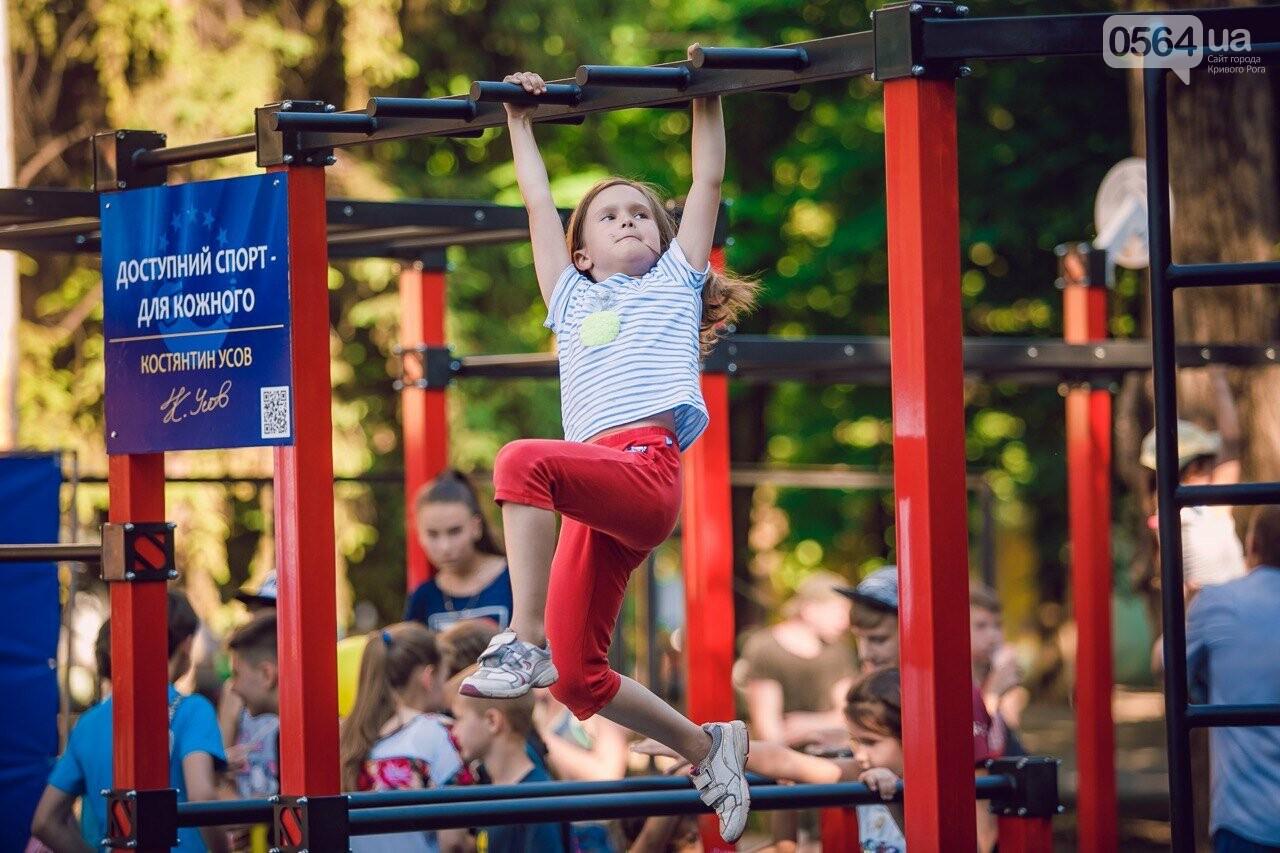 Мы это делаем, чтобы у наших криворожских детей было здоровое будущее», - Константин Усов открыл новую площадку для воркаута, фото-9