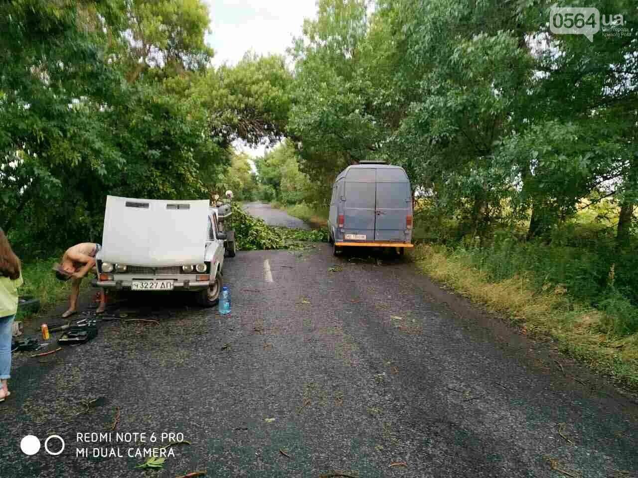 Чтобы освободить автомобилистов из ловушки, спасателям пришлось расчищать дорогу Пятихатки-Кривой Рог, - ФОТО, фото-2