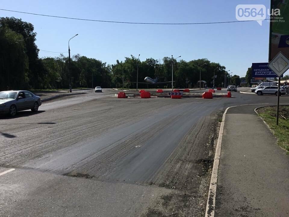 Недалеко от въезда в Кривой Роге на автодороге строят кольцо, - ФОТО, фото-3