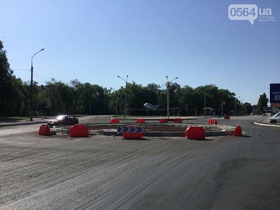 Недалеко от въезда в Кривой Роге на автодороге строят кольцо, - ФОТО, фото-19