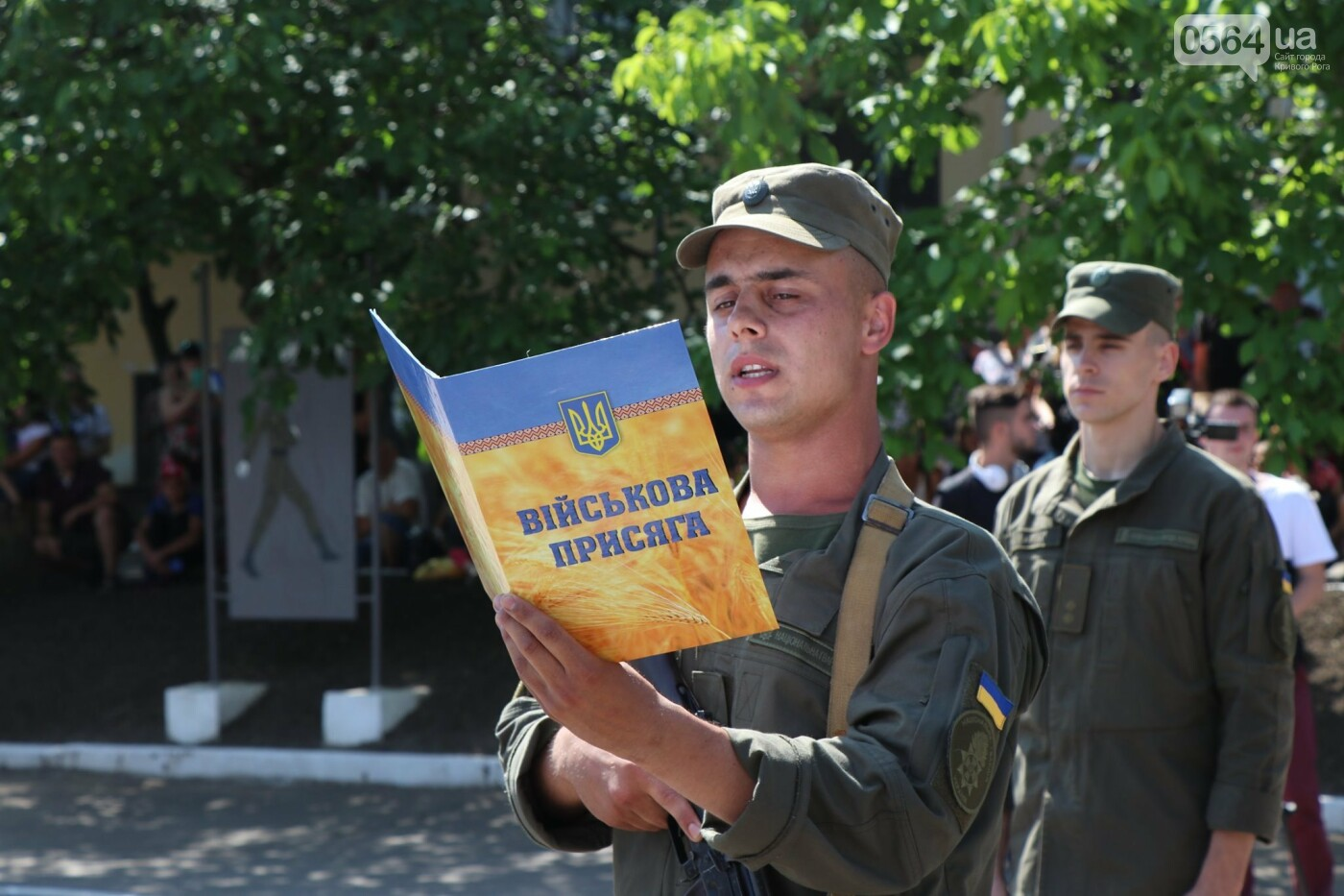 В Кривом Роге 168 нацгвардейцев торжественно приняли присягу на верность украинскому народу, - ФОТО, фото-20