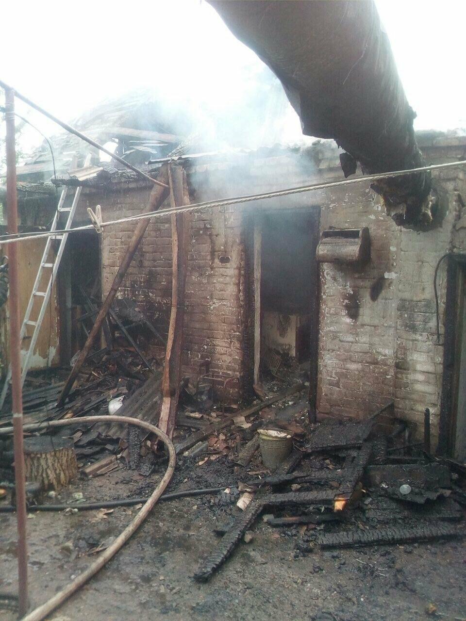 Пострадавшего на пожаре 71-летнего криворожанина госпитализировали в ожоговое отделение, - ФОТО , фото-2