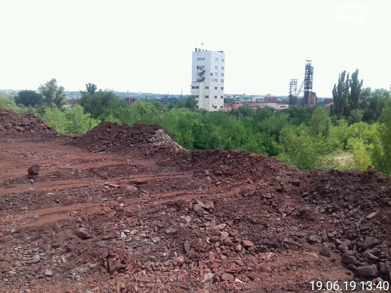 """Криворожские экологи проверили, как """"КЖРК"""" озеленяет санитарно-защитную зону и подавляет пыль, - ФОТО , фото-13"""