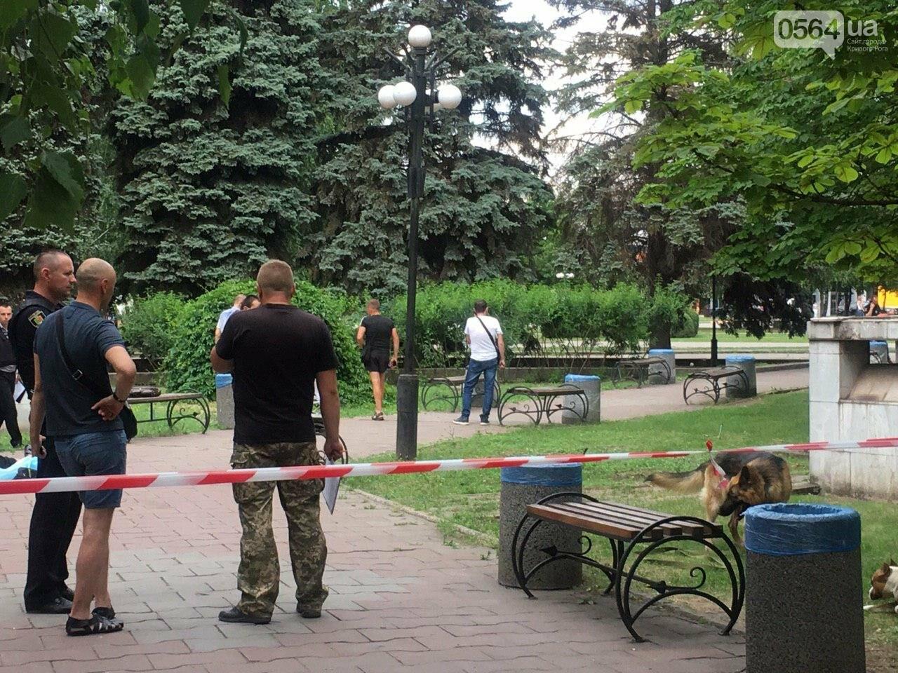 Возле мэрии Кривого Рога найдено тело мужчины с ножевыми ранениями. Рядом с убитым находится его собака, - ФОТО, ВИДЕО 18+, фото-3