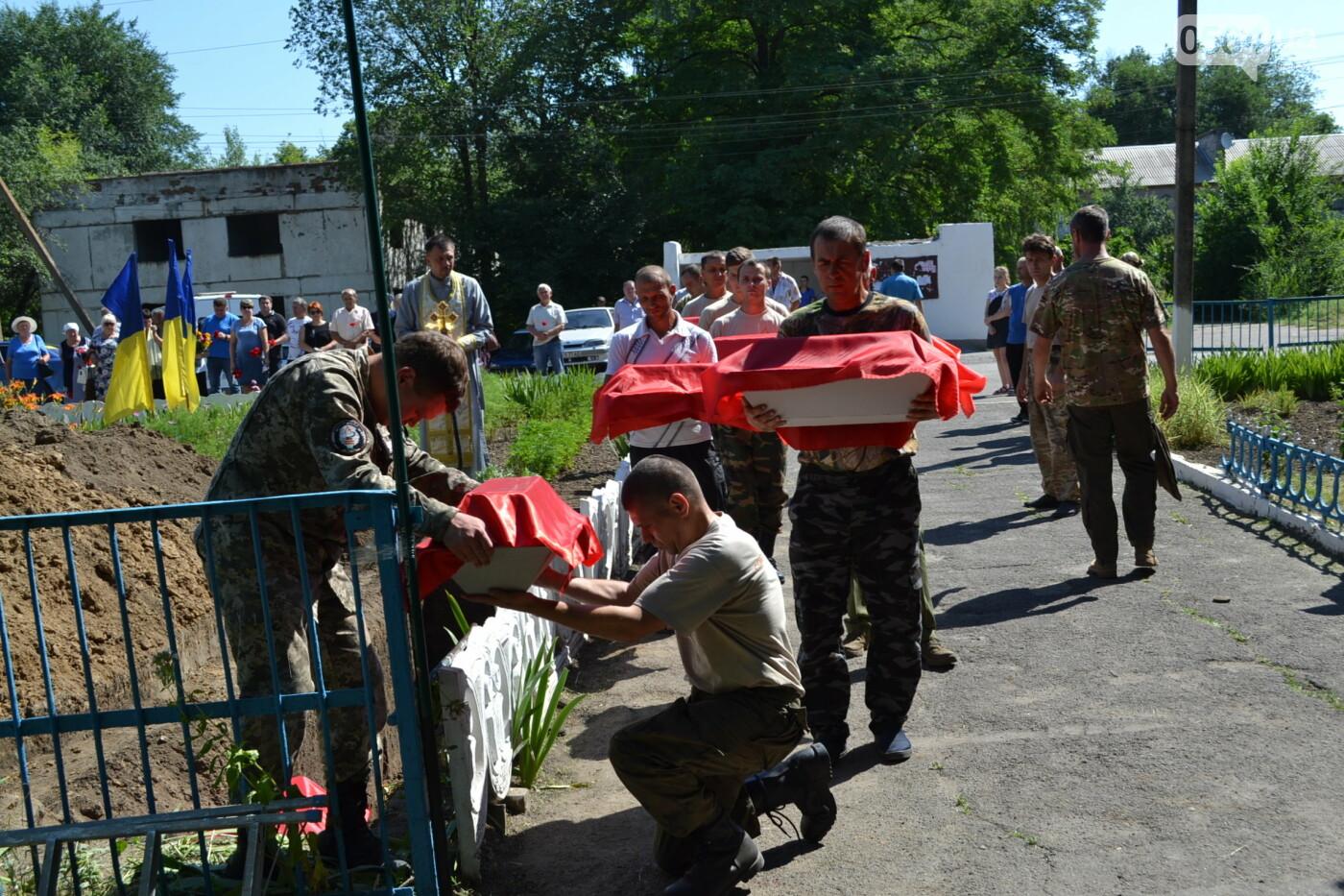 Вечная память! На Криворожье торжественно захоронили останки 43 воинов Второй мировой, - ФОТО, ВИДЕО, фото-32