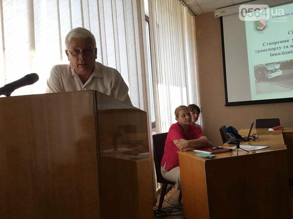 В Кривом Роге обсуждали, как объекты городской инфраструктуры сделать доступнее для людей с инвалидностью, - ФОТО, ВИДЕО, фото-4