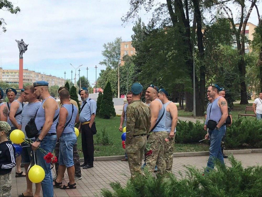"""""""Все равно в какой армии..."""", - по Кривому Рогу традиционно прошли мужчины в """"голубых беретах"""", - ФОТО, фото-2"""