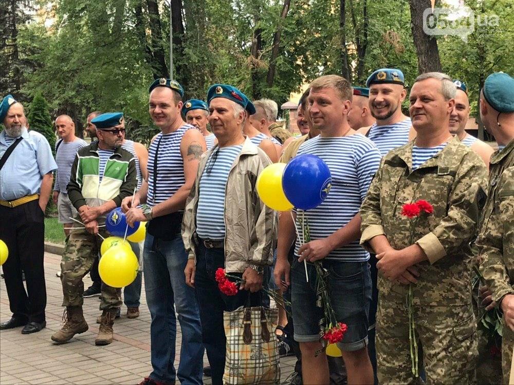 """""""Все равно в какой армии..."""", - по Кривому Рогу традиционно прошли мужчины в """"голубых беретах"""", - ФОТО, фото-10"""