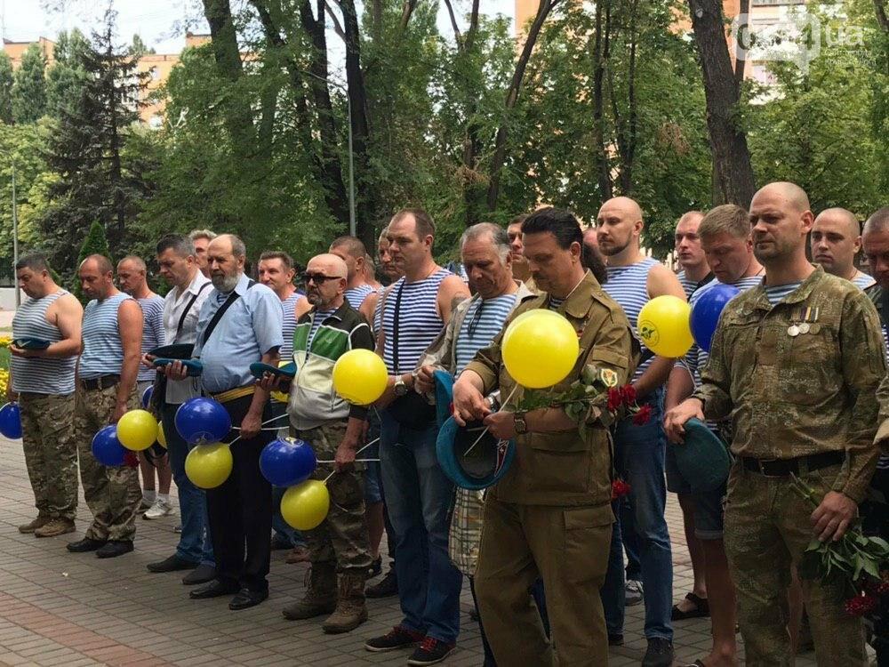 """""""Все равно в какой армии..."""", - по Кривому Рогу традиционно прошли мужчины в """"голубых беретах"""", - ФОТО, фото-9"""