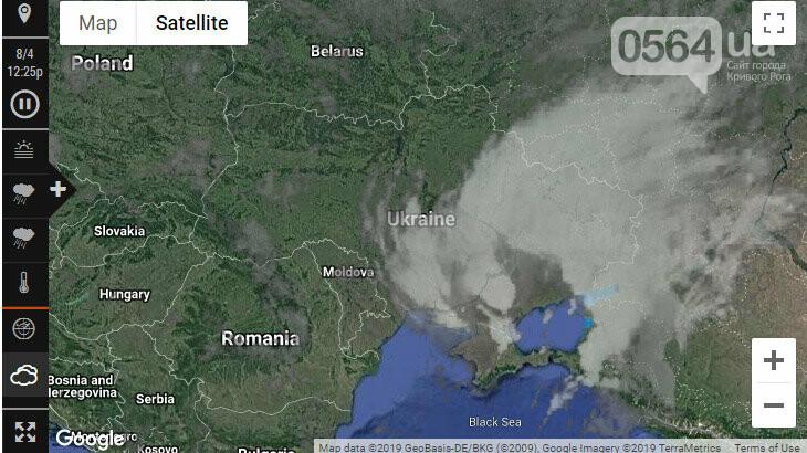В результате непогоды на Днепропетровщине без света остались более 1 тысячи абонентов, фото-1