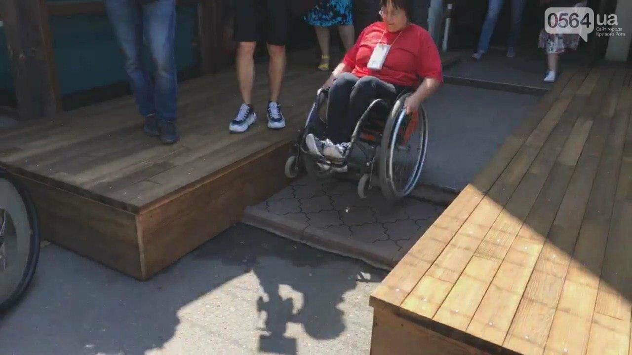 В центре Кривого Рога даже аптеки недоступны для людей с инвалидностью, - ФОТО, ВИДЕО, фото-17