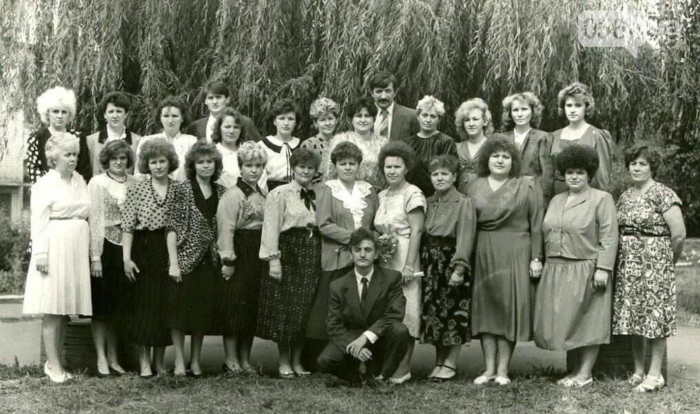 Как выглядели школьные линейки в Кривом Роге 10-20...50 лет назад, - ФОТО, фото-15