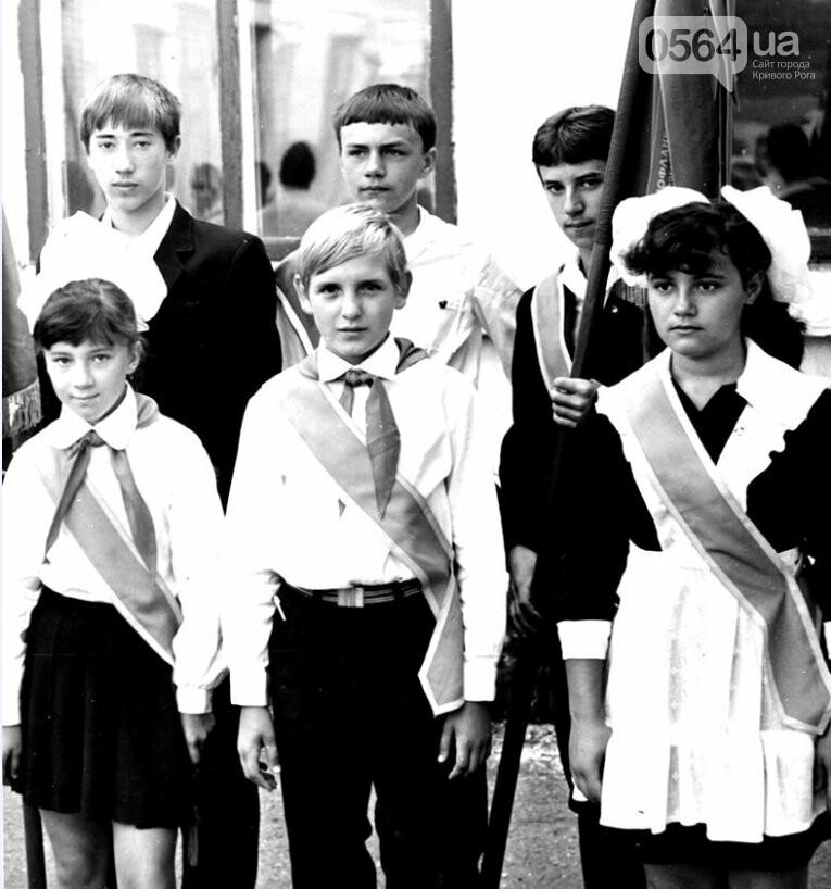 Как выглядели школьные линейки в Кривом Роге 10-20...50 лет назад, - ФОТО, фото-21