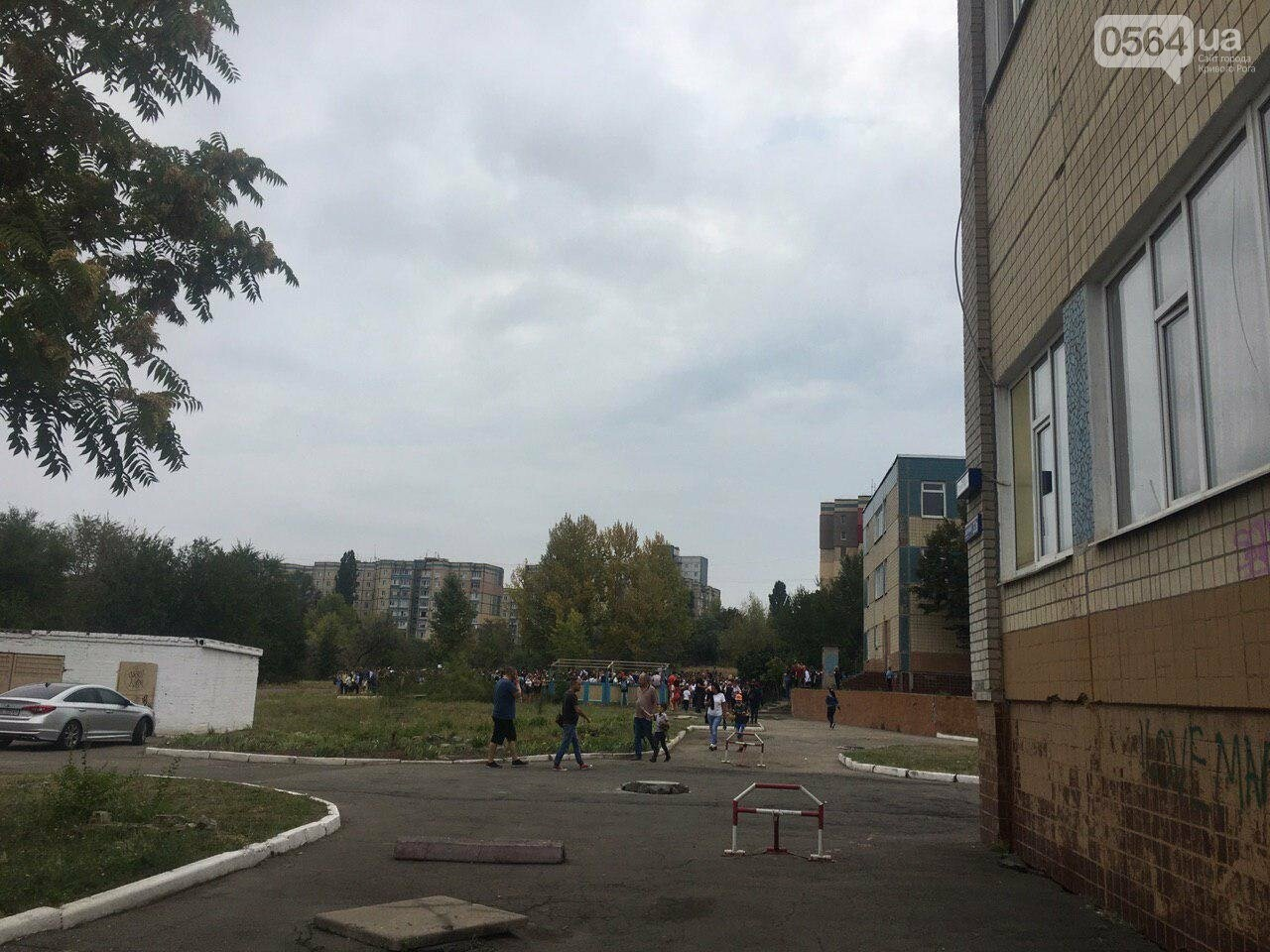 В одной из школ Кривого Рога из-за распыления неизвестного вещества срочно эвакуировали детей, - ФОТО, фото-7
