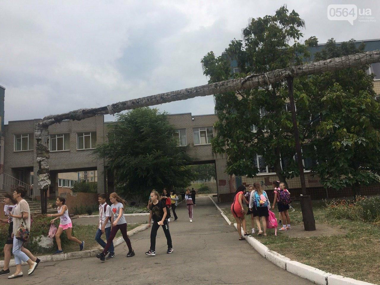 В одной из школ Кривого Рога из-за распыления неизвестного вещества срочно эвакуировали детей, - ФОТО, фото-9