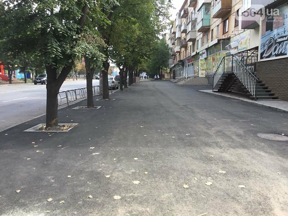 На центральном проспекте Кривого Рога ремонтируют тротуары, - ФОТО, ВИДЕО, фото-32