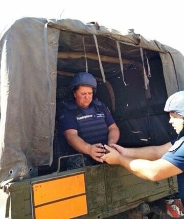 Пиротехники ГСЧС уничтожили мину, найденную на поле под Кривым Рогом, - ФОТО, фото-1