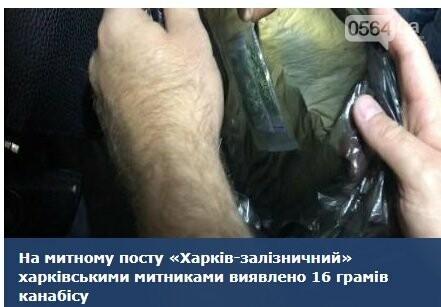 """В поезде """"Кривой Рог - Москва"""" один из пассажиров попался с наркотиками, фото-1"""
