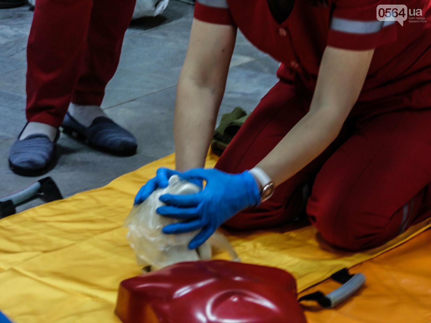 В Криворожском горисполкоме обучали оказывать людям первую медицинскую помощь, - ФОТО, ВИДЕО , фото-3