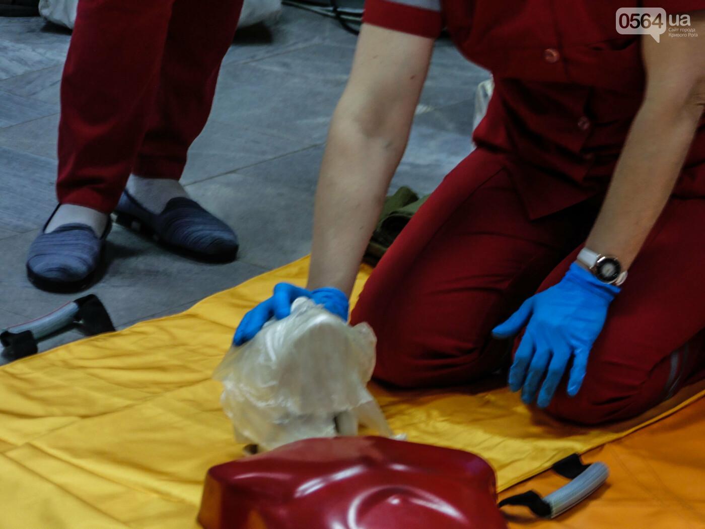 В Криворожском горисполкоме обучали оказывать людям первую медицинскую помощь, - ФОТО, ВИДЕО , фото-6