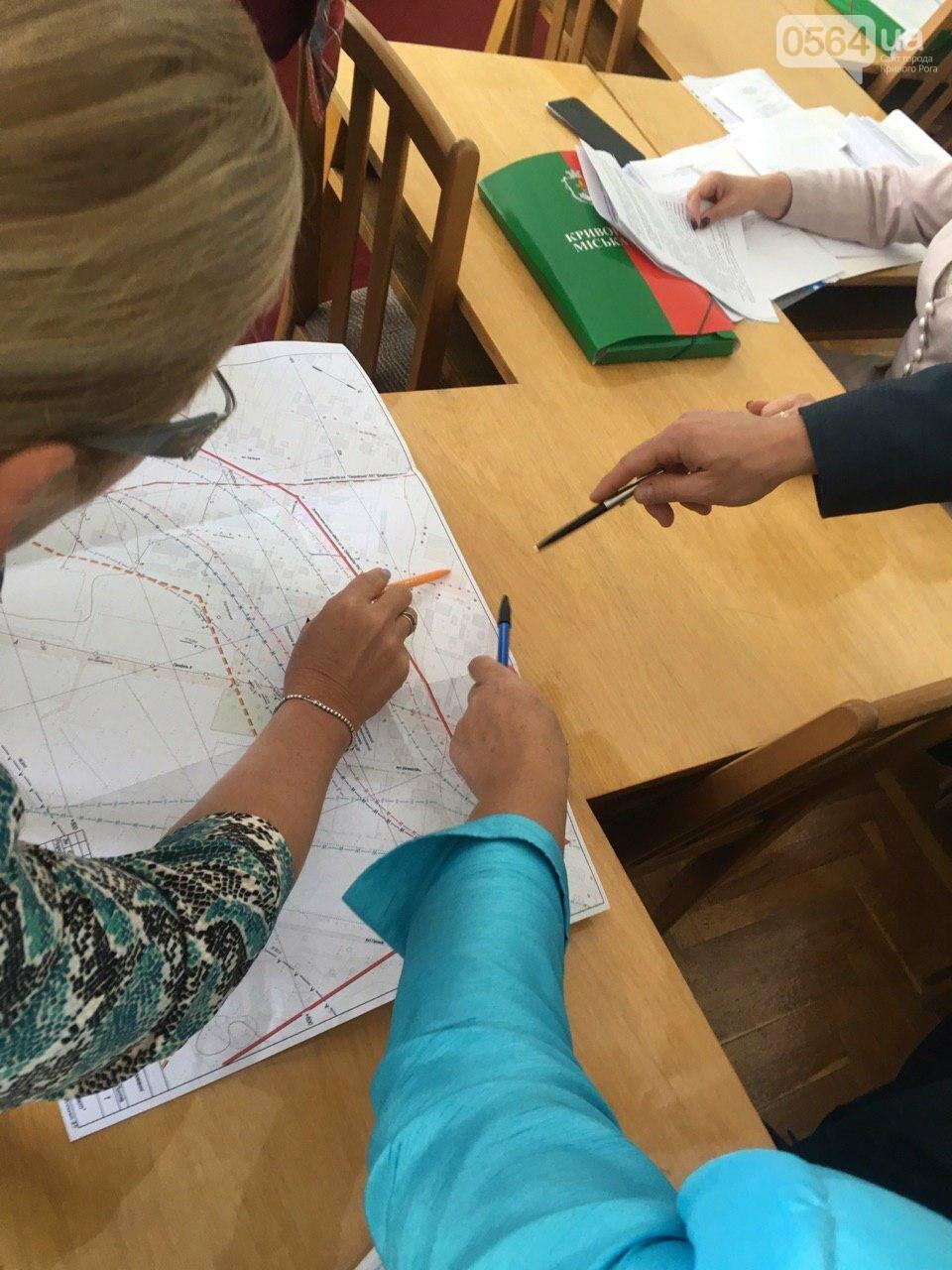 Депутаты Криворожского горсовета обсудили, куда и когда перенесут из зоны обрушения детский сад, - ФОТО , фото-23