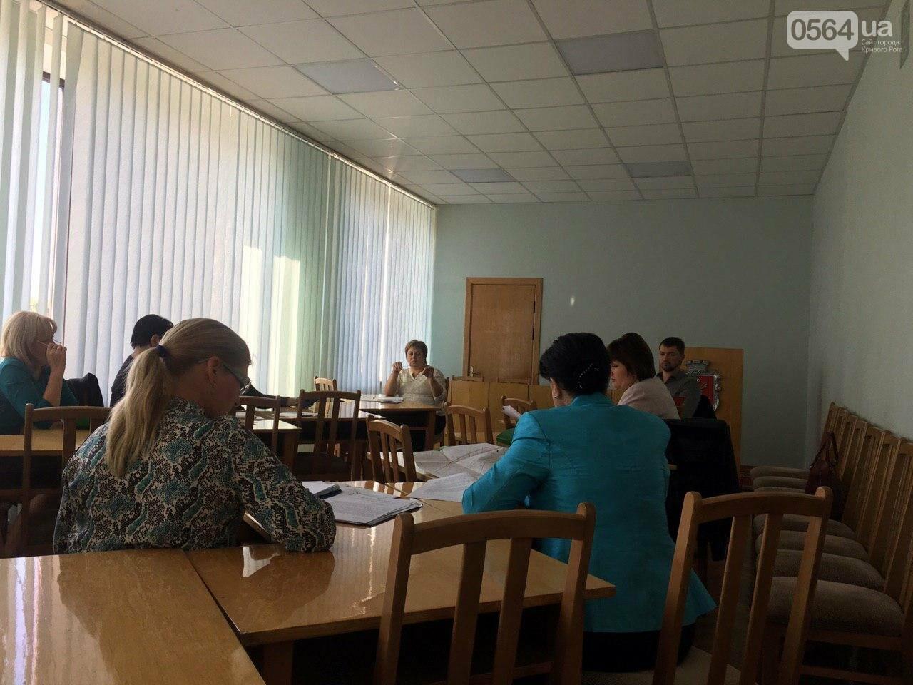 Депутаты Криворожского горсовета обсудили, куда и когда перенесут из зоны обрушения детский сад, - ФОТО , фото-19