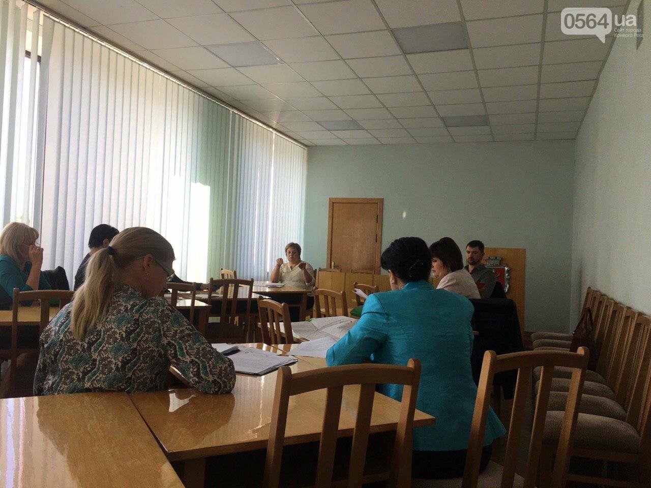 Депутаты Криворожского горсовета обсудили, куда и когда перенесут из зоны обрушения детский сад, - ФОТО , фото-16