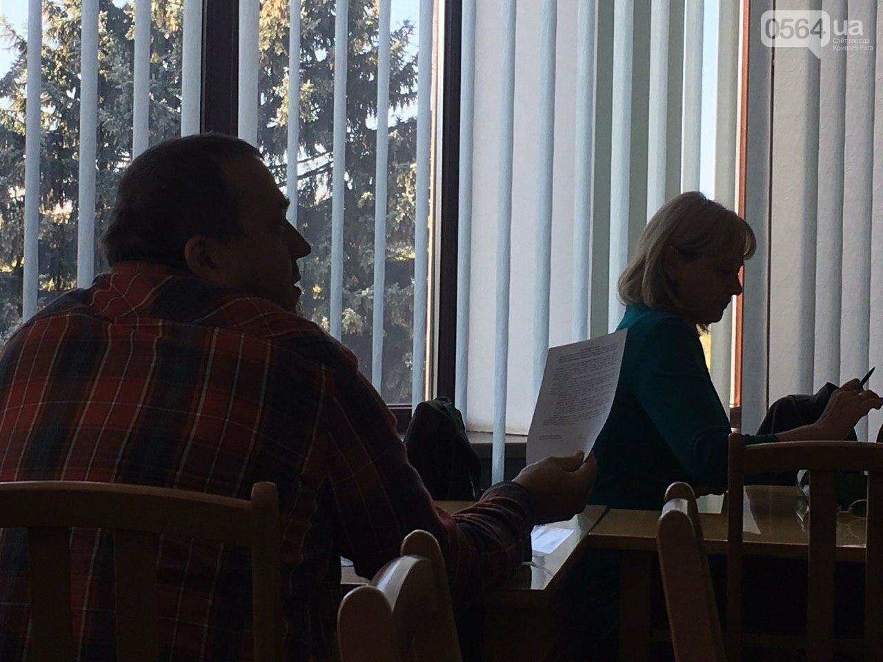Депутаты Криворожского горсовета обсудили, куда и когда перенесут из зоны обрушения детский сад, - ФОТО , фото-15