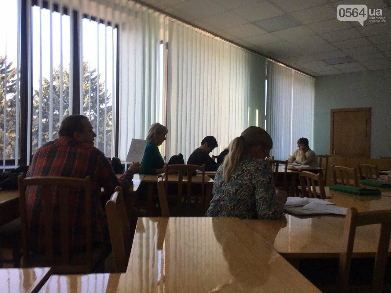 Депутаты Криворожского горсовета обсудили, куда и когда перенесут из зоны обрушения детский сад, - ФОТО , фото-14