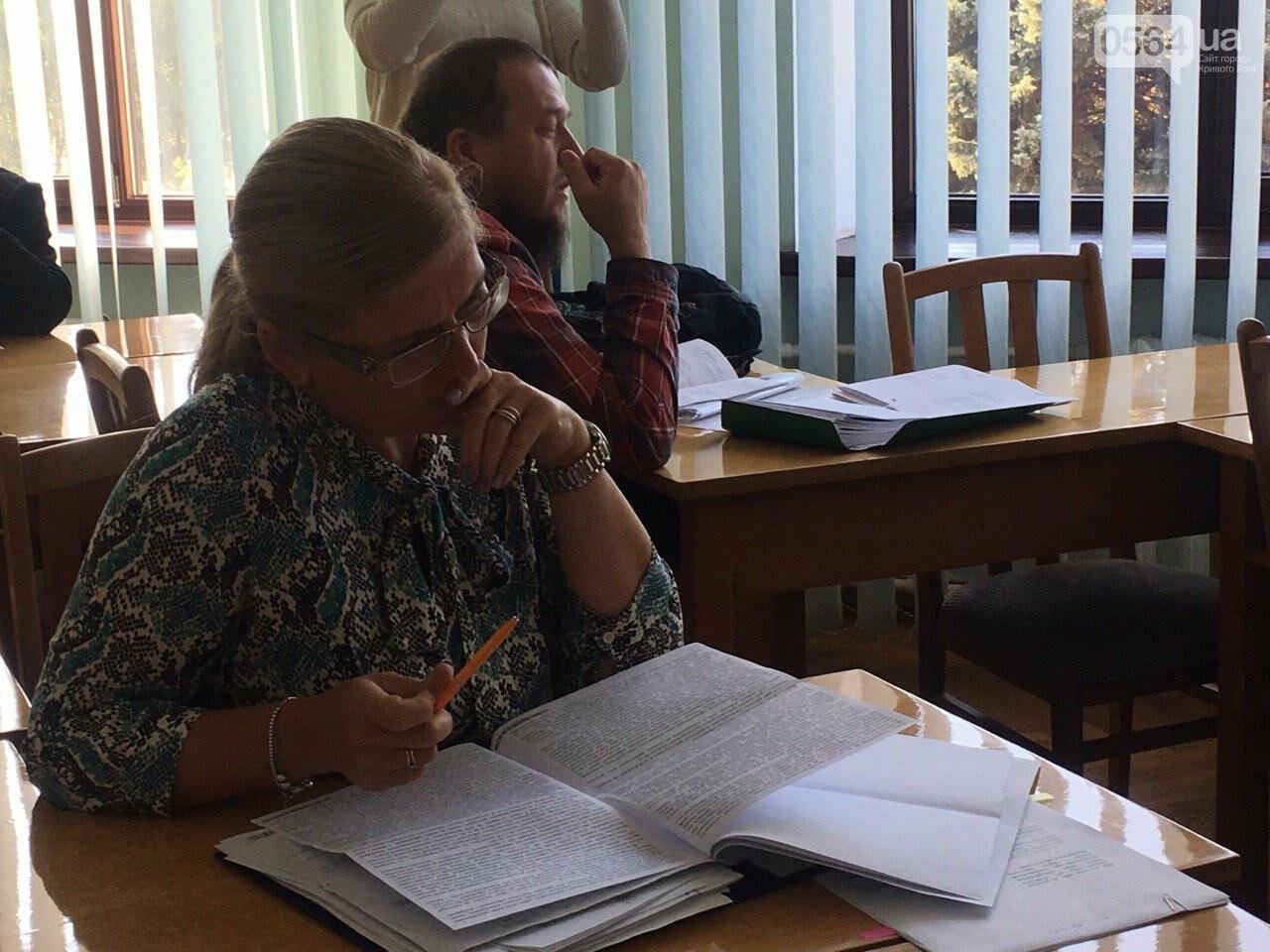 Депутаты Криворожского горсовета обсудили, куда и когда перенесут из зоны обрушения детский сад, - ФОТО , фото-10