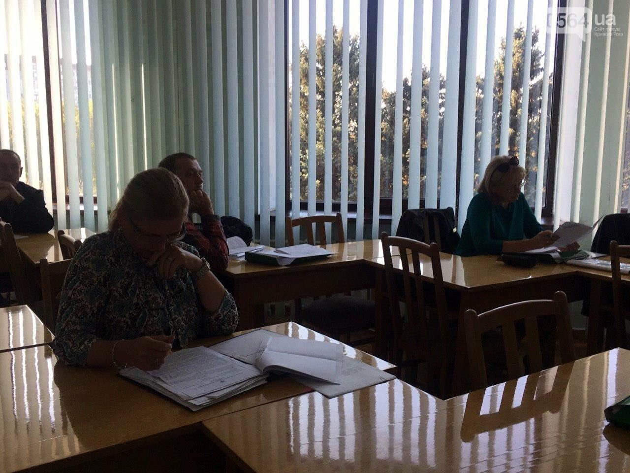 Депутаты Криворожского горсовета обсудили, куда и когда перенесут из зоны обрушения детский сад, - ФОТО , фото-5