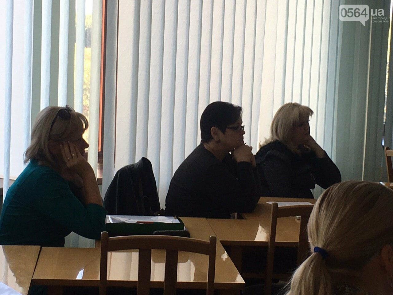 Депутаты Криворожского горсовета обсудили, куда и когда перенесут из зоны обрушения детский сад, - ФОТО , фото-1