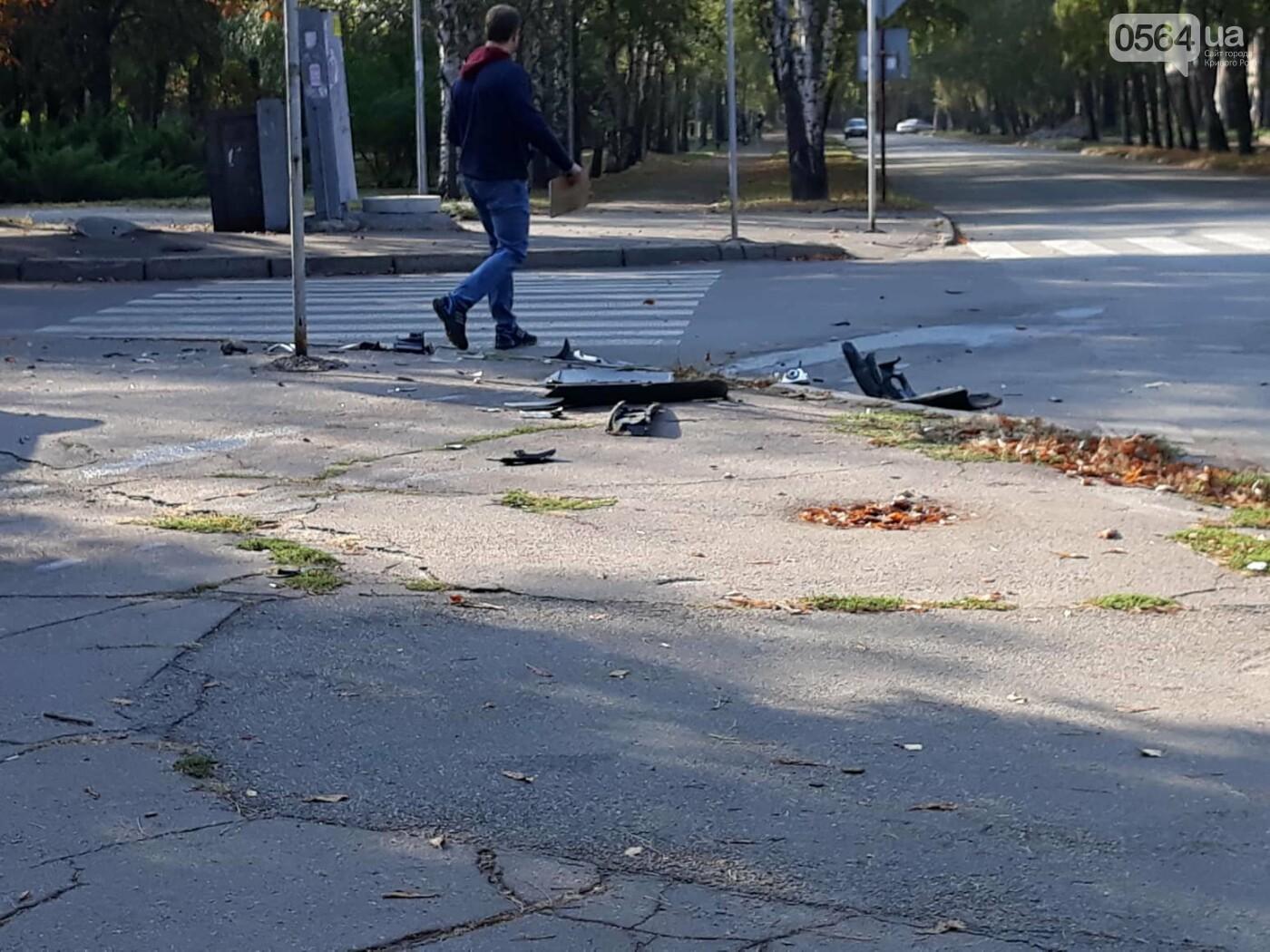 ДТП в Кривом Роге: от удара Chery выбросило далеко за пределы проезжей части, фото-3