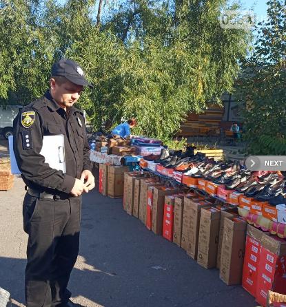 В Кривом Роге после рейда исчезли торговцы малиной и куртками, - ФОТО , фото-2