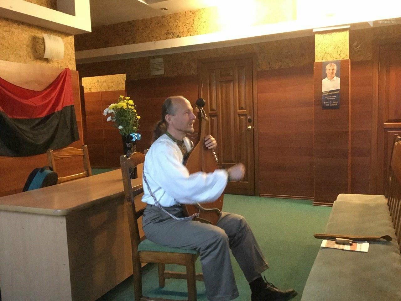 Известный украинский кобзарь выступил перед криворожанами, - ФОТО, ВИДЕО, фото-3