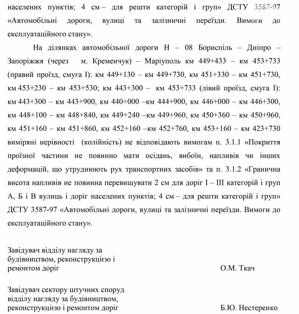 Фирму первого замглавы Днепропетровского облсовета обвинили в некачественном ремонте трасс, фото-10
