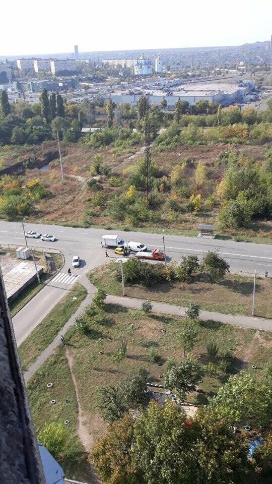 В Кривом Роге в результате ДТП пострадал водитель, - ФОТО , фото-3