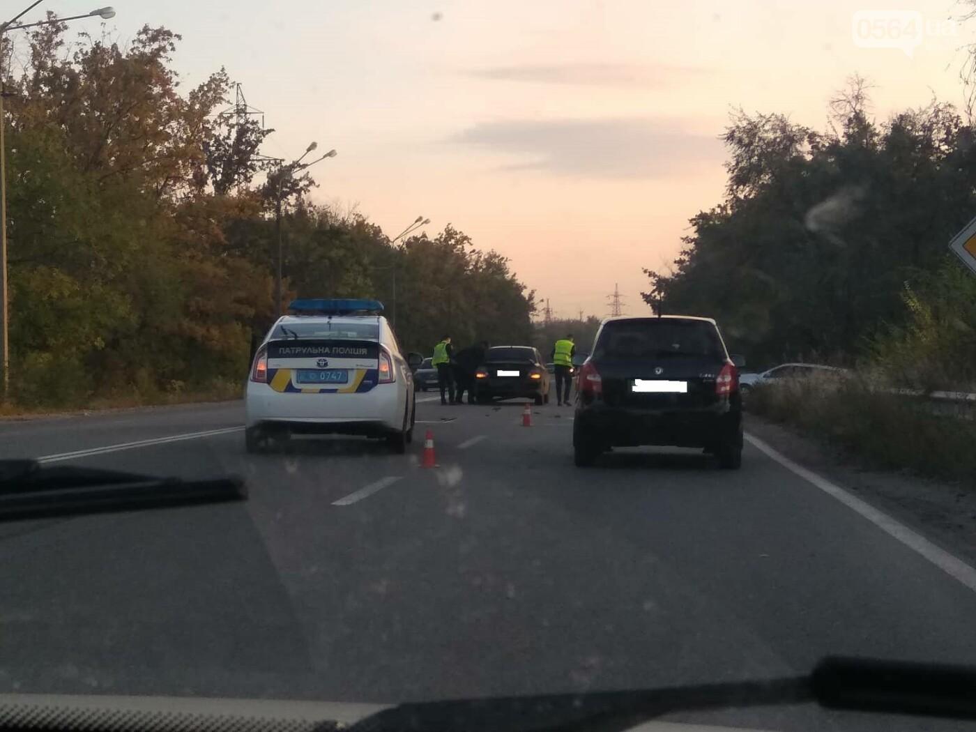 В Кривом Роге на объездной дороге не разминулись Mitsubishi  и Skoda , - ФОТО, фото-5