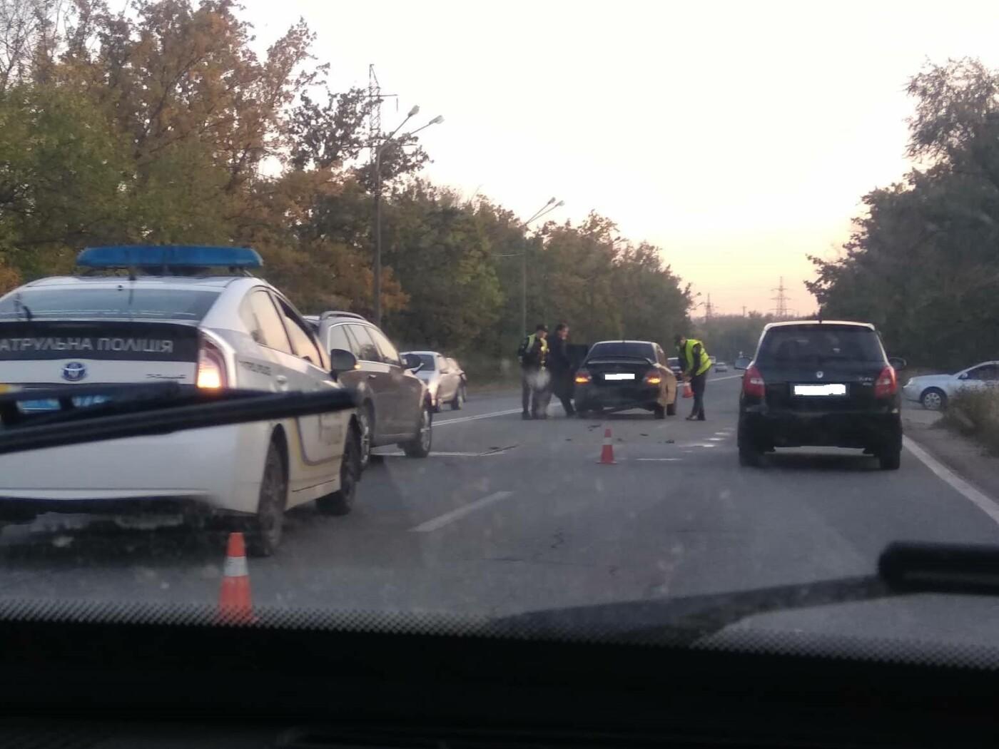 В Кривом Роге на объездной дороге не разминулись Mitsubishi  и Skoda , - ФОТО, фото-3
