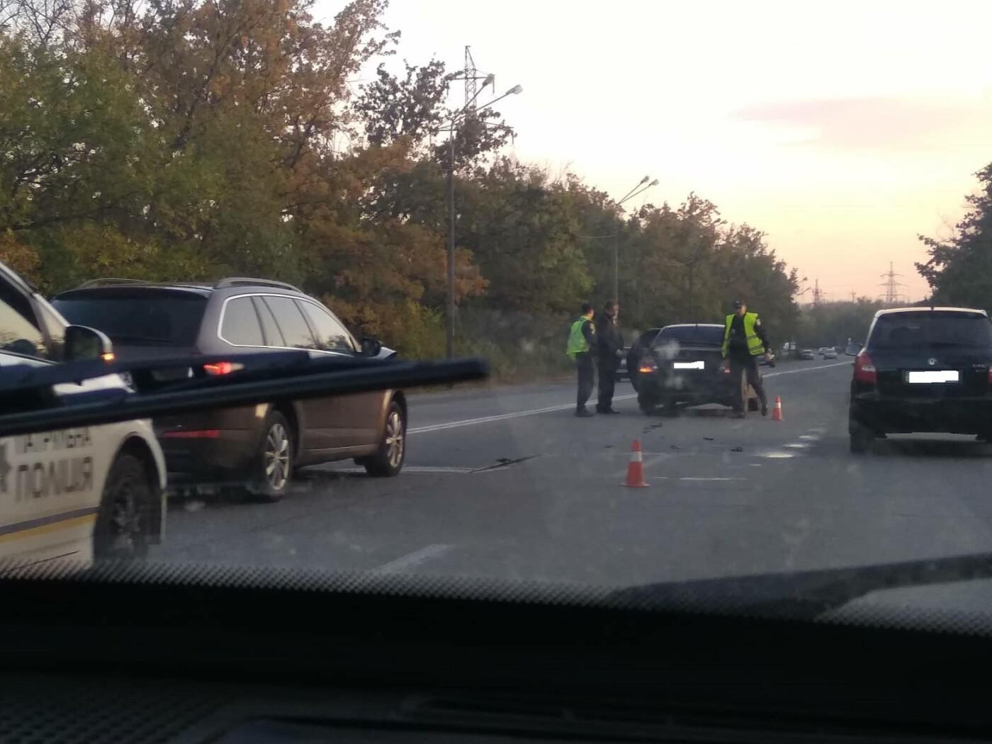 В Кривом Роге на объездной дороге не разминулись Mitsubishi  и Skoda , - ФОТО, фото-4