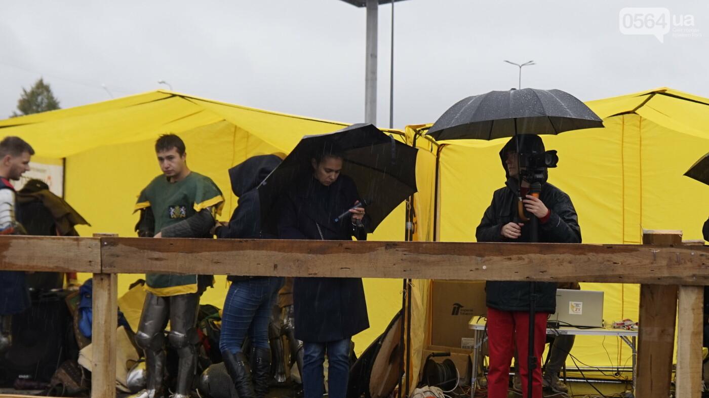 В Кривом Роге рыцари в доспехах, с мечами и топорами приняли участие в Турнире стального города, - ФОТО, ВИДЕО , фото-2