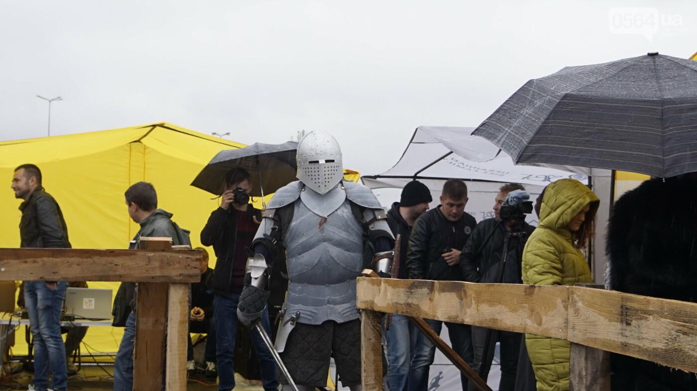 В Кривом Роге рыцари в доспехах, с мечами и топорами приняли участие в Турнире стального города, - ФОТО, ВИДЕО , фото-9
