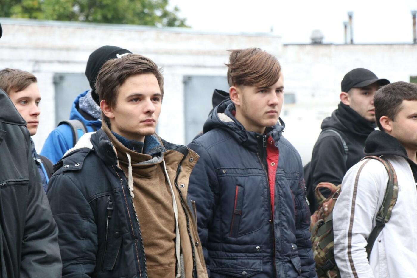 """В Криворожскую бригаду прибыли срочники для прохождения """"курса молодого бойца"""", - ФОТО , фото-2"""