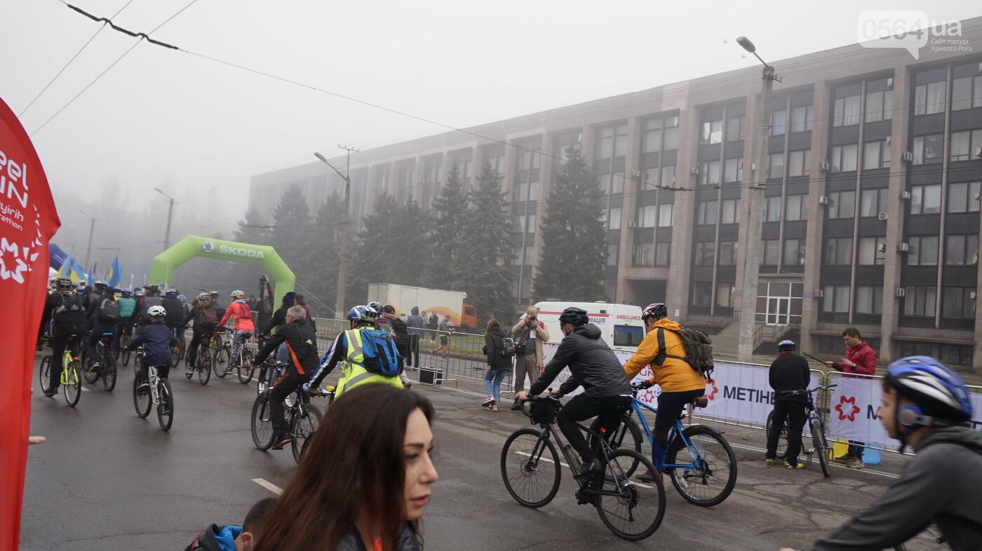 В Кривом Роге День защитника Украины и День украинского козачества начали отмечать с велопробега, - ФОТО, ВИДЕО  , фото-25