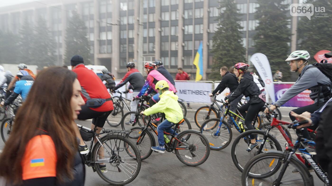 В Кривом Роге День защитника Украины и День украинского козачества начали отмечать с велопробега, - ФОТО, ВИДЕО  , фото-22