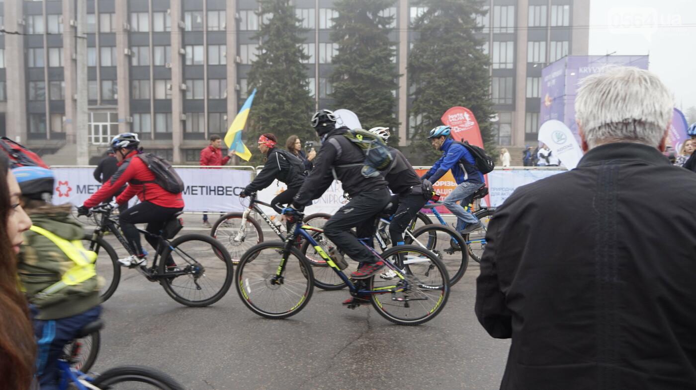 В Кривом Роге День защитника Украины и День украинского козачества начали отмечать с велопробега, - ФОТО, ВИДЕО  , фото-23