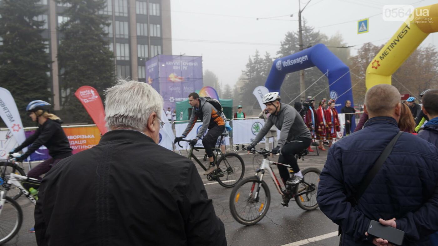 В Кривом Роге День защитника Украины и День украинского козачества начали отмечать с велопробега, - ФОТО, ВИДЕО  , фото-26