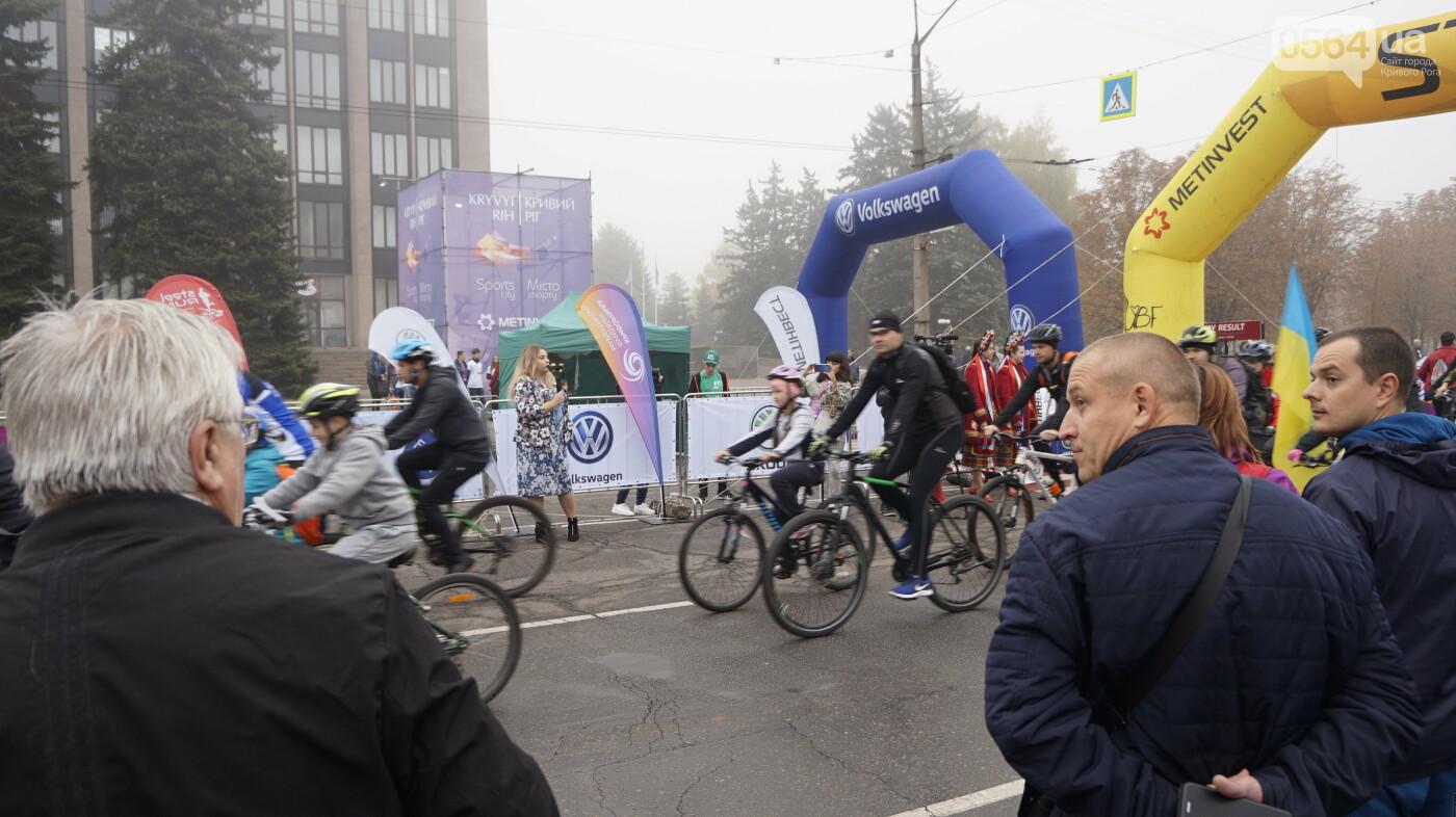В Кривом Роге День защитника Украины и День украинского козачества начали отмечать с велопробега, - ФОТО, ВИДЕО  , фото-30