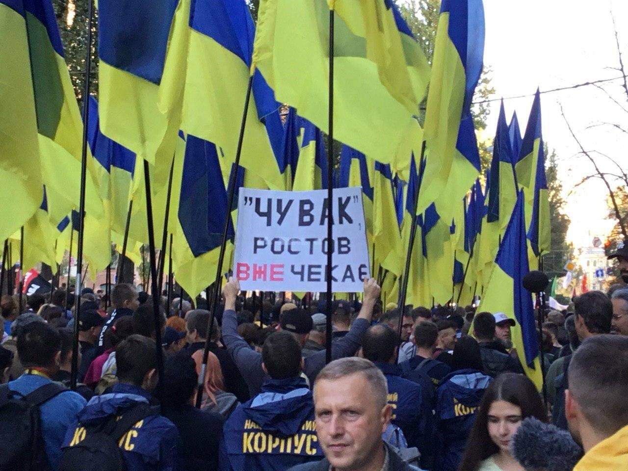 Криворожане поддержали Марш сопротивления капитуляции в Киеве, - ФОТО, ВИДЕО, ОБНОВЛЕНО, фото-10